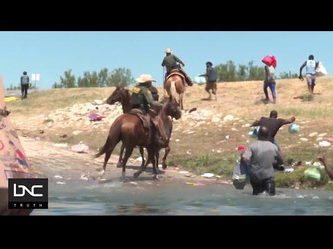 US Kicks Out Haitian Migrants Crossing US/Mexican Border