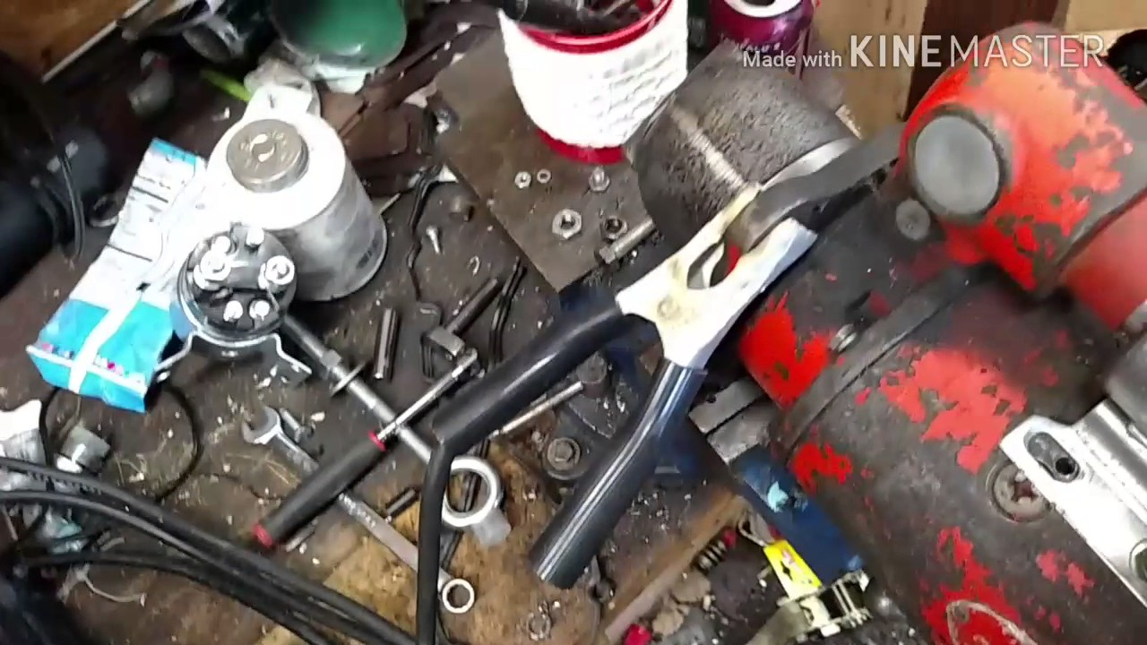 bench test and solenoid replacement on tractor starter [ 1280 x 720 Pixel ]
