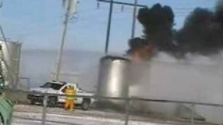 Woodward, Oklahoma Oil Storage Tank Fire, 12-10-08
