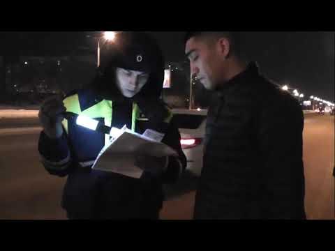 Рейд в Тюмени по выявлению иностранцев за рулем автобусов и такси