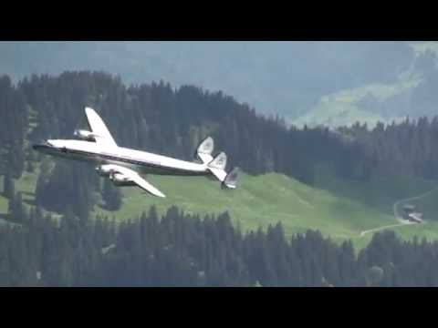 Breitling Super Constellation flight Basel-Buochs-Basel
