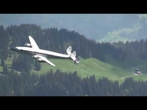 Breitling Super Constellation flight Basel-Buochs-Basel