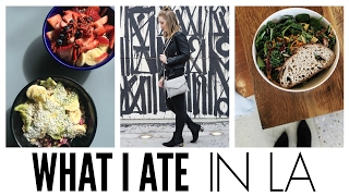 What I Eat In A Day | Sweetgreen, Alfred's Coffee & MORE!