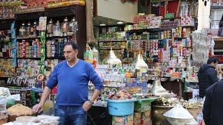 エジプト旅行No56ハンハリーバザール見物