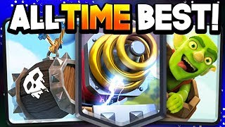 Top 5 BAIT DECKS in the HISTORY of Clash Royale!