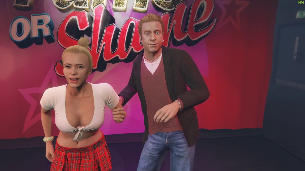 Grand Theft Auto 5: Stripper Twerking Miley Style For Me