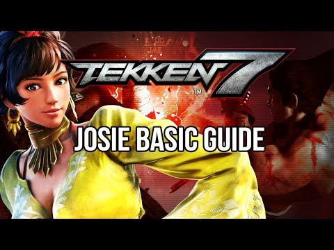 JOSIE Basic Guide - TEKKEN 7 (Basic To Pro)