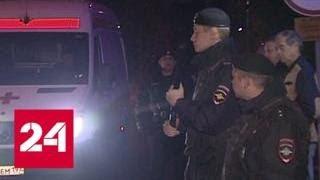 Массовая драка у ТЦ  Москва   избитый охраной мигрант жив   Россия 24