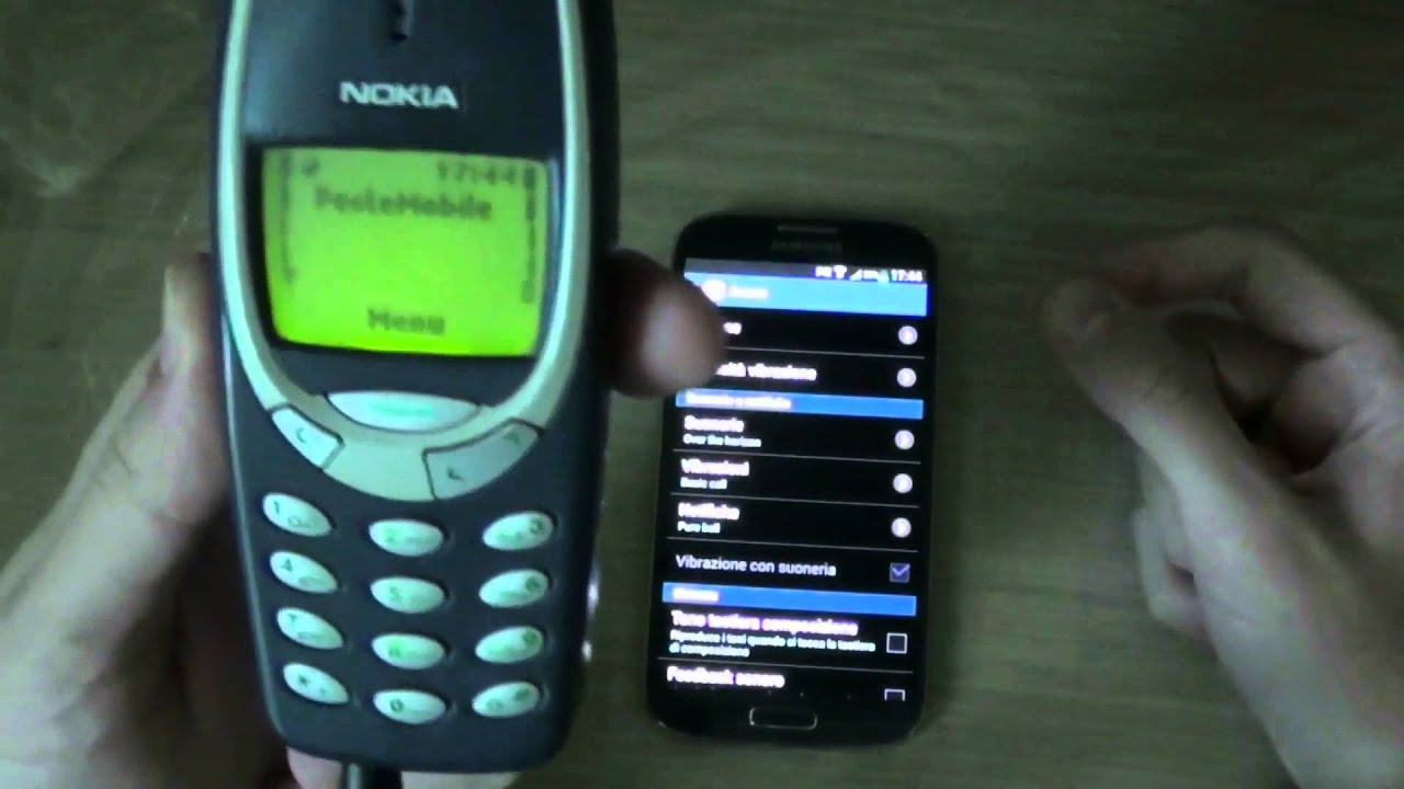 nokia 3310 vs samsung galaxy s4 by youtube. Black Bedroom Furniture Sets. Home Design Ideas