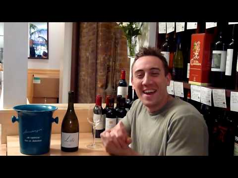 Video Tasting of the Xavier Lili (White Rhône Valley wine, France) - click image for video