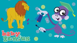 Baby Lions | Animal Sing Along Songs for Kids | Baby Genius
