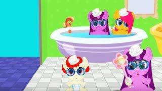 День Шляпок.Показ мод для пони, примеряем новые наряды карманной пони. Мультик игра для детей.