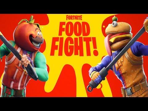 NEW FORTNITE UPDATE! NEW FOOD FIGHT LTM GAMEMODE IN FORTNITE! (FORTNITE BATTLE ROYALE) thumbnail