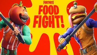 NEW FORTNITE UPDATE! NEW FOOD FIGHT LTM GAMEMODE IN FORTNITE! (FORTNITE BATTLE ROYALE)