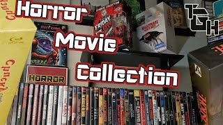 Horror Movie Collection 2019! Blu-ray, DVD and VHS!