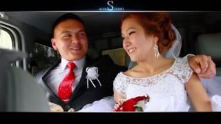 Жаркынбек & Айзада, свадьба (ролик)