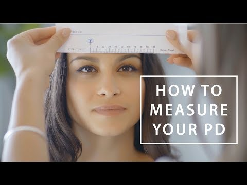 photo about Pupillary Distance Ruler Printable called How in direction of Evaluate Your PD (Pupillary Length) EyeBuyDirect