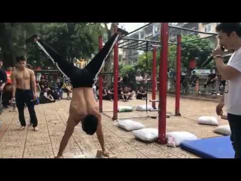 Street workout Đỉnh cao - Vòng loại Hanoi Street workout battle 2017 - Đấu đến chết!