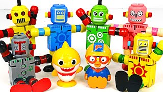 Let's find Little Mimi's dog with a Robot Dolls and Velcro Robot~   PinkyPopTOY