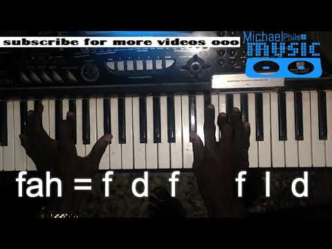 """""""No forget"""" by Adekunle Gold chord progression in solfa (Beginners)"""