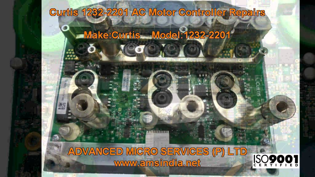 Motor Wiring Diagram : Curtis  ac motor controller repairs advanced