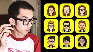 I Am Going to Read Your Mind - Snapchat Bitmoji (Magic Trick)
