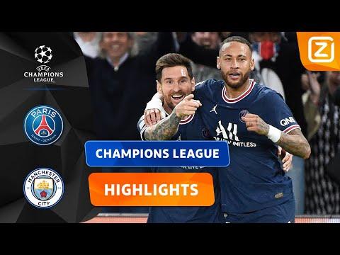 MESSI MET EEN WONDERSCHONE TREFFER! 😍   PSG vs Man City   Champions League 2021/