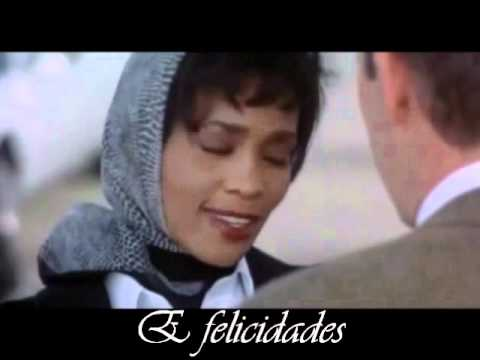 Whitney Houst  I Will Always Love You  legendado e traduzido tema do filme o guarda costas