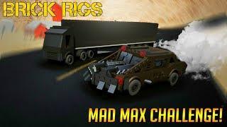 MAD MAX DESTRUCTION CHALLENGE! - Brick Rigs Multiplayer Gameplay
