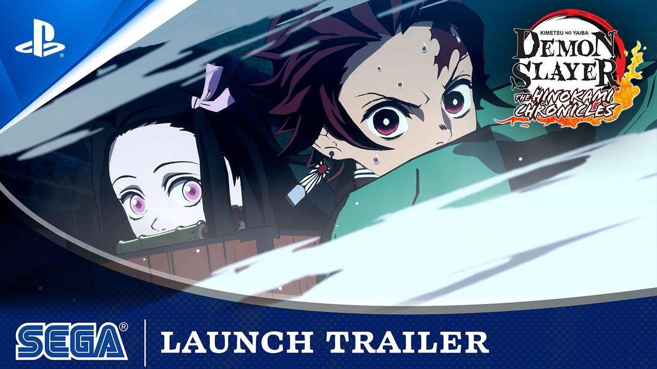 Demon Slayer: Kimetsu no Yaiba - The Hinokami Chronicles   Launch Trailer