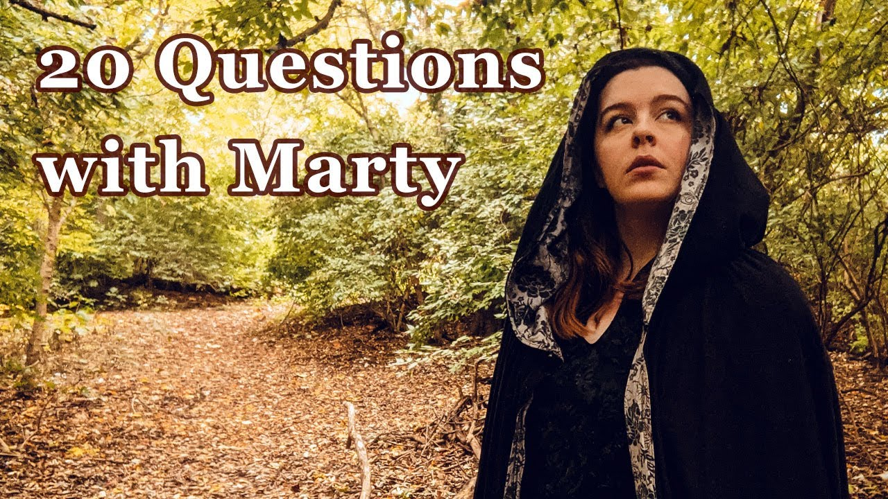 20 Questions with...Marty of Scraps andSequins || Ice Breaker Questions with Costumers