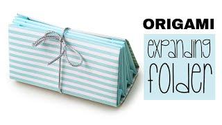 Origami Expanding Folder Tutorial ♥ DIY ♥︎