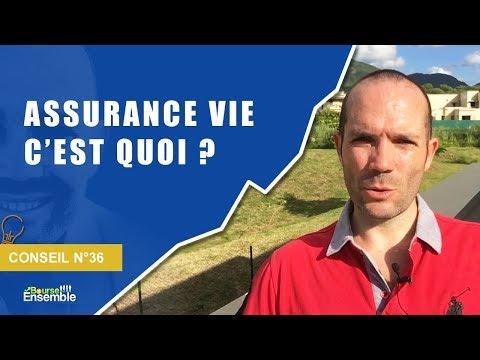 Assurance vie, c'est quoi (Conseil Bourse n°36)