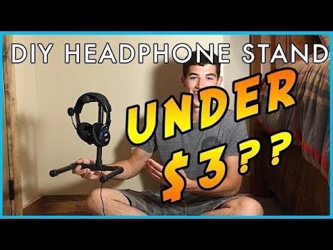 DIY Headphone Stand | UNDER $3