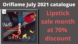 Oriflame July 2021 catalogue #July2021oriflamecatalog | #new Oriflame July 2021 catalogue #C07 cata