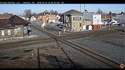 Deshler, Ohio USA - Virtual Railfan LIVE