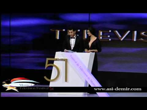 Tuba Büyüküstün & Murat Yıldırım-51th Monte Carlo TV Festival