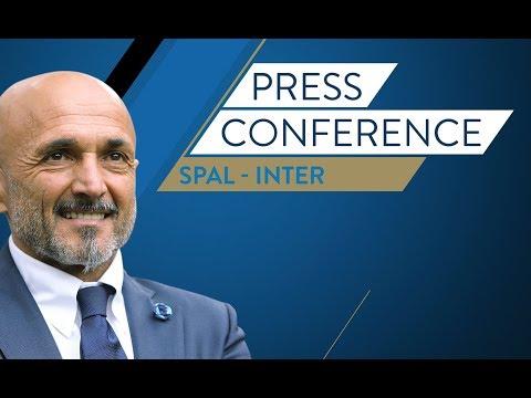 Live!  Conferenza stampa di  Spalletti prima di Spal vs. Inter  | HD