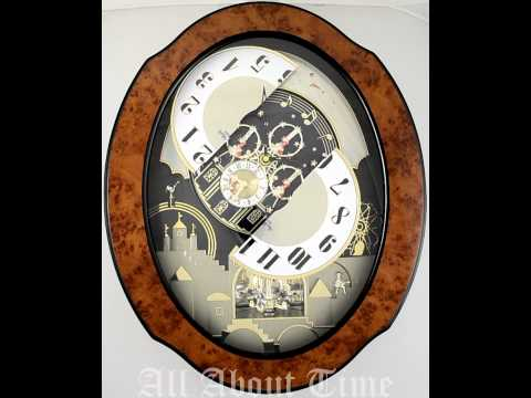 Rhythm Timecracker Legend Musical Clock
