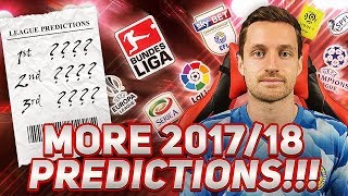 MORE 2017/18 PREDICTIONS! - IMO #34