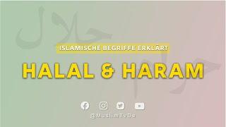 Islamische Begriffe Erklärt | Haram & Halal