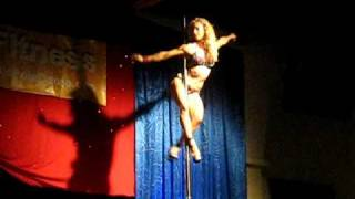 Jenyne Butterfly World Pole Dance 2009