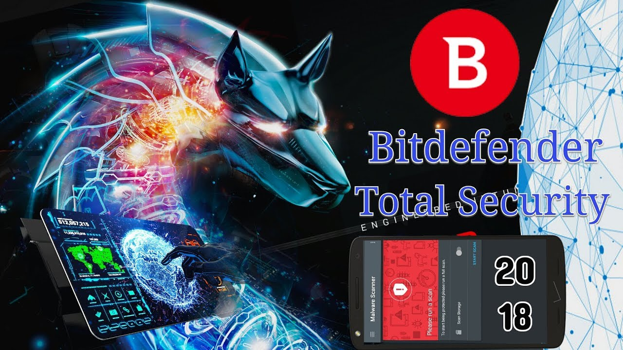 Bitdefender Total Security 2018 - 90 Day Trail Extend - for Free