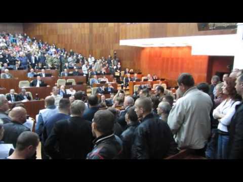 Зняття «газового» питання на сесії Полтавської облради (Полтава, 02.10.2015)