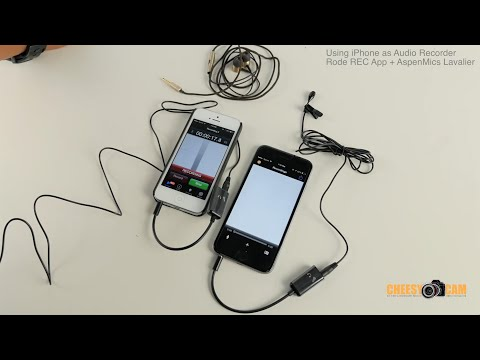 Using your iPhone 6 as Portable Audio Recorder DSLR Video