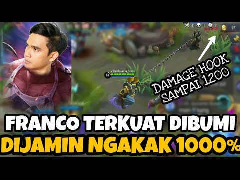 FRANCO TERKUAT DI BUMI!! DIJAMIN NGAKAK 1000% WKWK - Mobile Legends #2