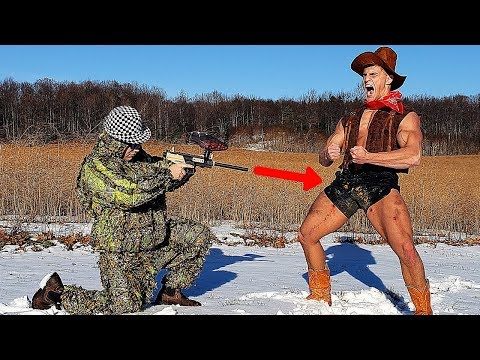 Paintball Gun VS My B*LLS (INSTANT REGRET) | Bodybuilder VS Extremely Painful Paintball Challenge