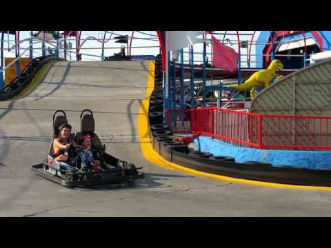 The kids 2nd Go Kart Race in Pigeon Forge, TN