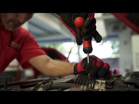 Destornilladores Urrea con matraca reversible y puntas inter thumbnail