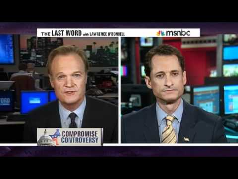 """MSNBC: Weiner on White House """"Deal"""" to Extend Bush Tax Cuts for Billionaires"""
